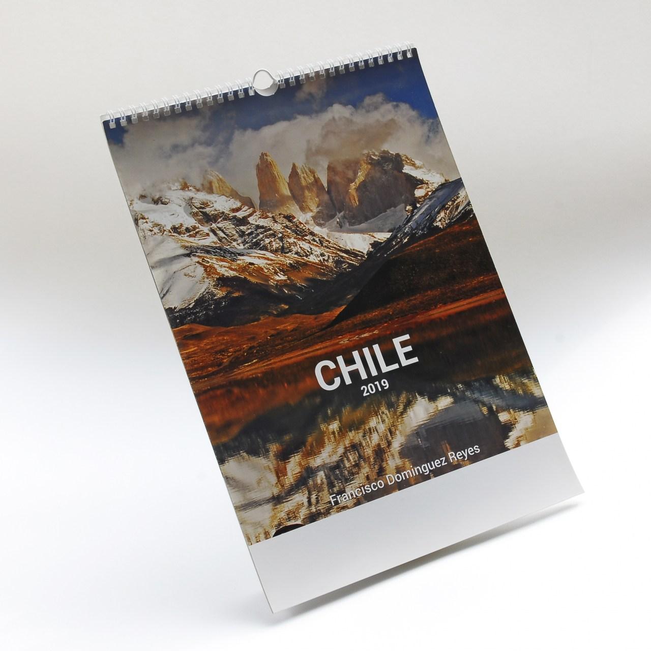 Calendario con fotografías de ChileCalendario para empresas 2016